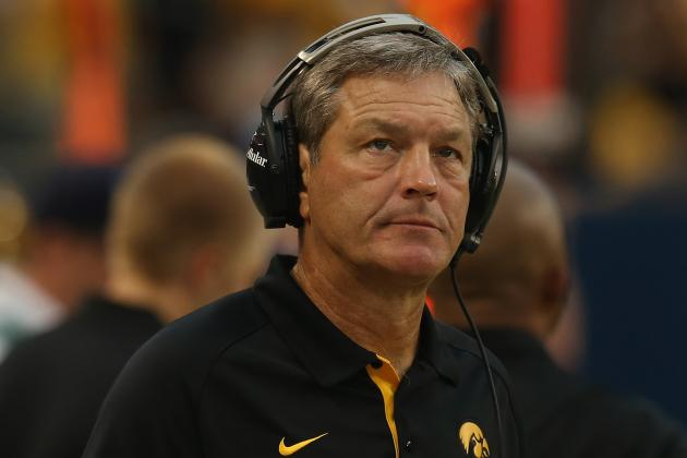 Football Coach Ferentz Announces Coaching Changes