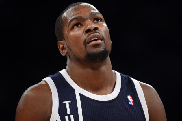 Can Mavs Keep Kevin Durant from Dominating from the Line?