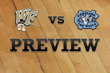 Wake Forest vs. North Carolina: Full Game Preview