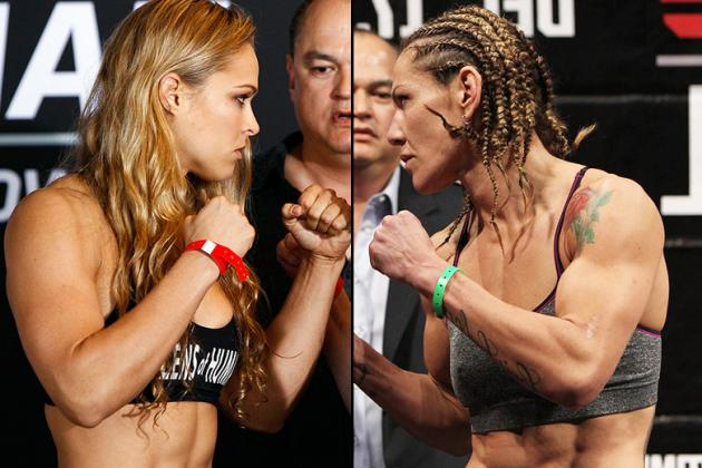 Dana White: Cyborg vs. Ronda Rousey UFC Title Fight 'Has to Go to 135 Pounds'