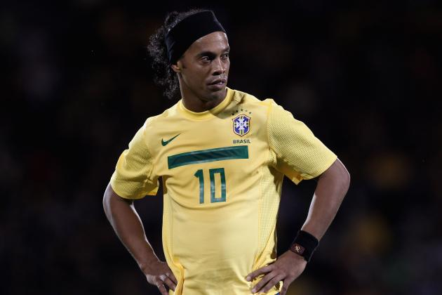 Too Long in the Tooth? Ronaldinho Ready for World Cup Audition at Wembley