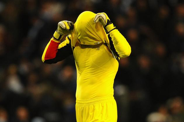 Reina Insists He Is Not to Blame for Liverpool's Struggles Against Top Sides