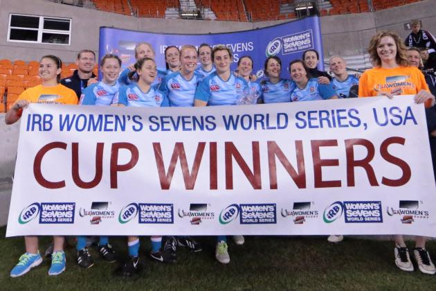 IRB Women's Sevens Rugby: Houston, We Have a Winner