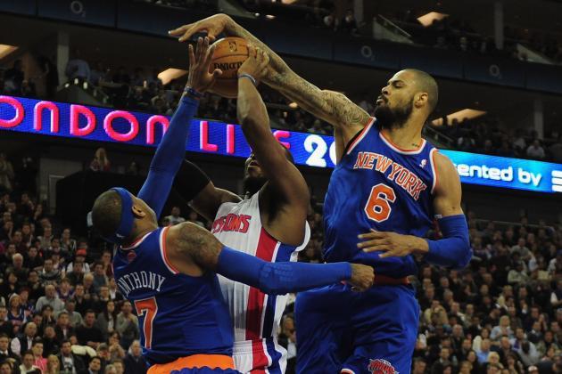 NBA Gamecast: Pistons vs. Knicks