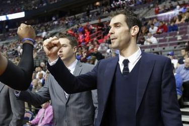 Jose Calderon to Start for Detroit Pistons After 2 Games of Study