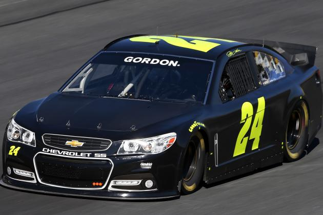Jeff Gordon's Familiar Paint Scheme Is History