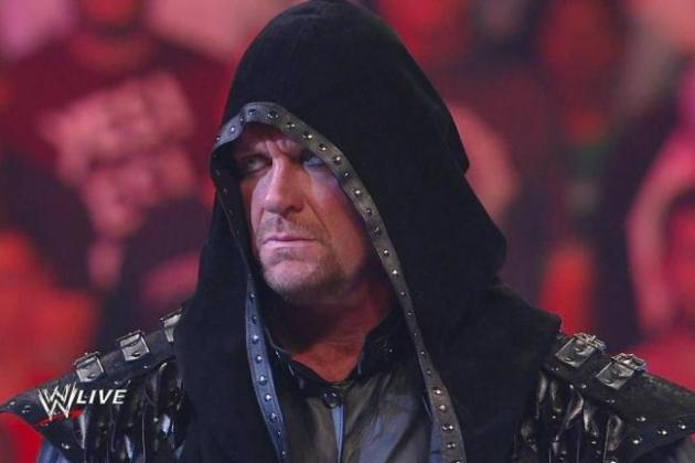 WWE News: Undertaker Reportedly at 'Less Than 50 Percent' for WrestleMania 29
