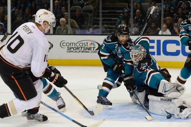 ESPN Gamecast: Sharks vs. Ducks