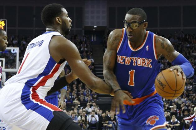 Detroit Pistons vs. New York Knicks: Live Score, Results and Game Highlights