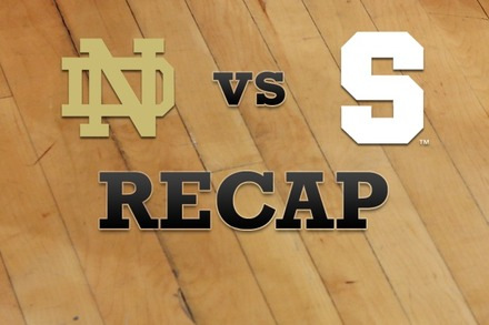 Notre Dame vs. Syracuse: Recap and Stats