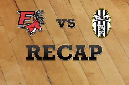 Fairfield vs. Siena: Recap and Stats
