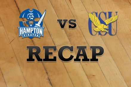 Hampton vs. Coppin State: Recap and Stats