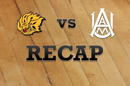 UAPB vs. Alabama A&M: Recap and Stats