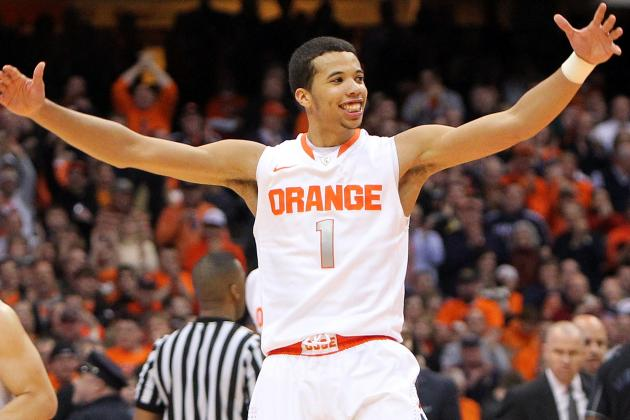 Michael Carter-Williams and Brandon Triche Trade Scoring for Playmaking