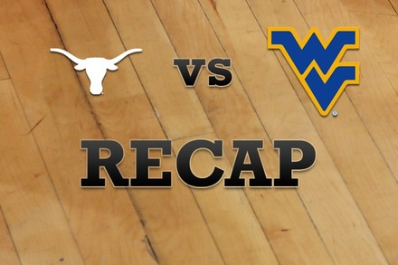 Texas vs. West Virginia: Recap and Stats