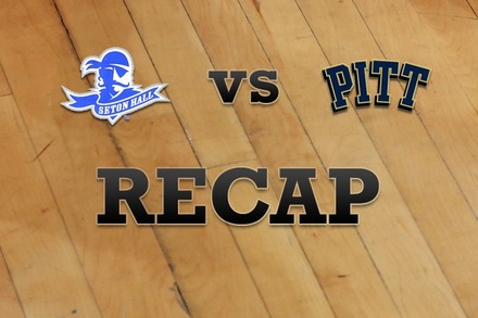Seton Hall vs. Pittsburgh: Recap and Stats