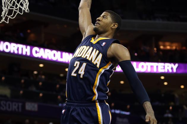 3 Pacers Score at Least 20 Points as Team Wins 14th Straight at Home