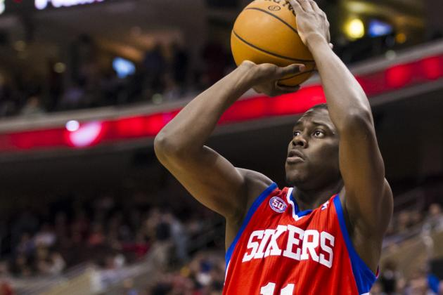 Thad Young Hurts Hamstring in Sixers' Victory