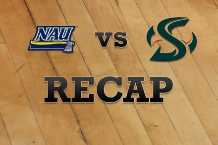 Northern Arizona vs. Sacramento State: Recap and Stats