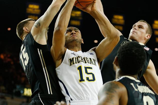 Michigan's Jon Horford, Mitch McGary Fill in Nicely as Backup Centers