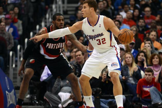 Clips' Griffin (hamstring) Ends 197-Game Streak