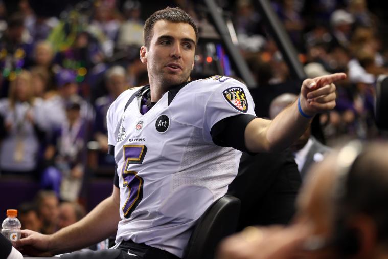 Super Bowl: CBS May Have to Pay Fine for Joe Flacco's Emotional F-Bomb After Win