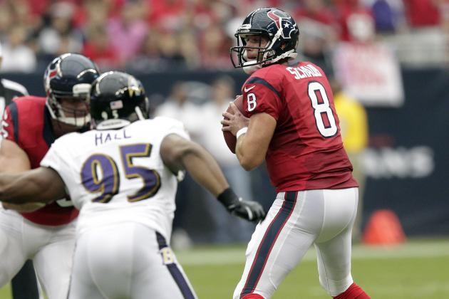 Is Joe Flacco Better Than Matt Schaub? and Other AFC South Must-Reads