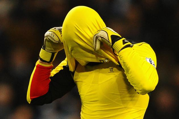 Reina Refuses to Shoulder Blame for Poor Liverpool Results