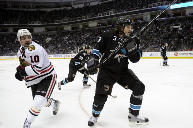 Chicago Blackhawks' Date with the Sharks a Battle for No. 1 in NHL