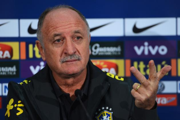 Brazil Coach Luiz Felipe Scolari Promises Some Surprises Against England