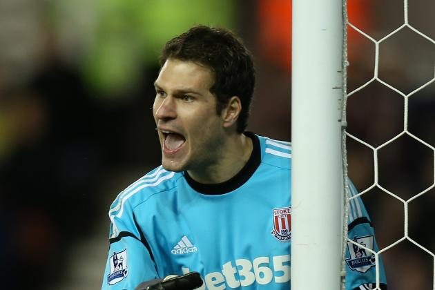 Asmir Begovic Expects Stoke to Sell Him but Hasnt Agreed Manchester United Move