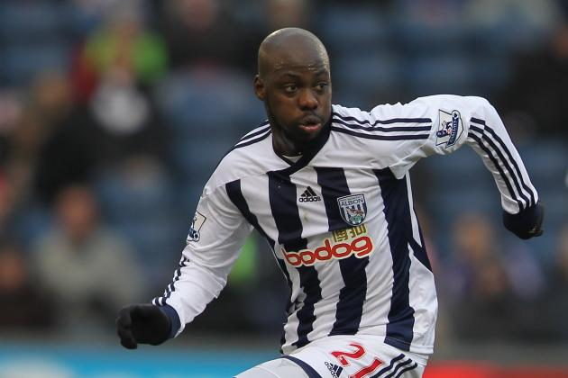 West Brom Midfielder Youssouf Mulumbu Expects to Return Against Liverpool