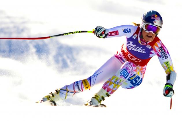Skier Lindsey Vonn Airlifted off Slope Following Serious Crash