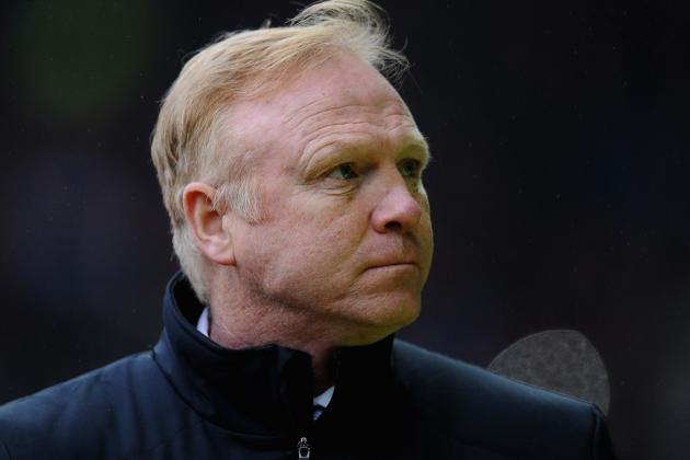 Forest and McLeish Part Company