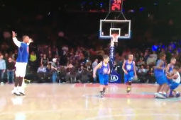 J.R. Smith Airballed a Free Throw, Got Ignored by Kids