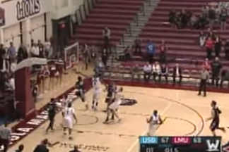 Video: Dazzling End-of-Game Reverse Layup in Traffic Gives San Diego Win
