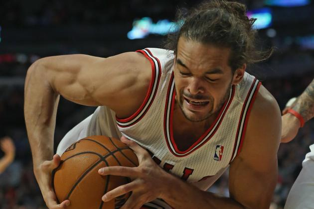 The NBA's Dress Code Police Ask Noah to Leave Bench and Change His Sweater