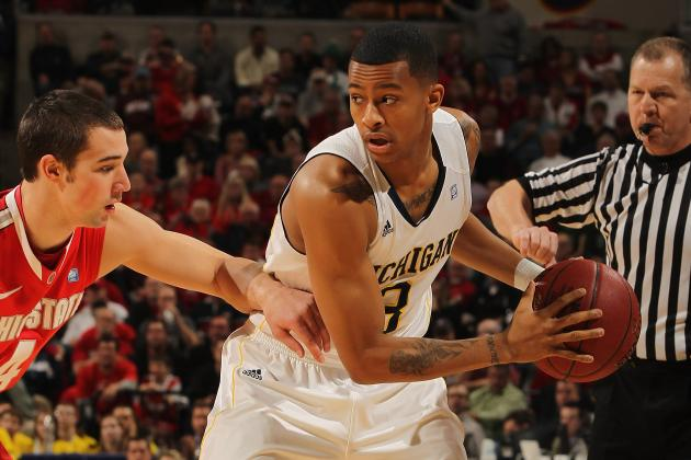Michigan's Trey Burke Looks Forward to Rematch with Ohio State's Aaron Craft