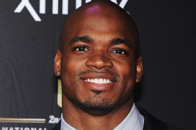 Vikings' Adrian Peterson Wins NFL MVP, Offensive Player of the Yea