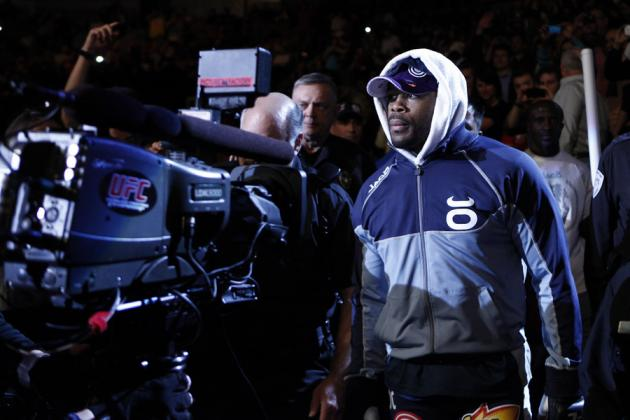 Rashad Evans Says Weidman Good Enough to Contend at 205, Deserves Shot at Silva