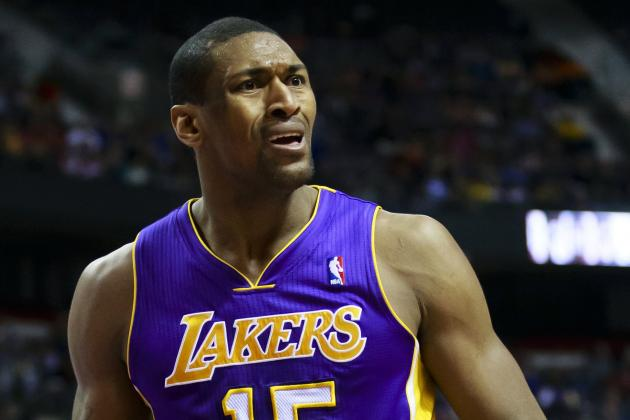 Metta World Peace Suspended 1 Game for Altercation with Brandon Knight