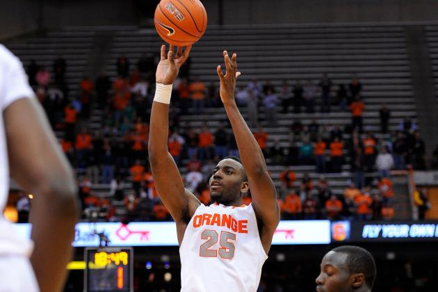 Rakeem Christmas Shows Life on the Offensive End in Orange Win