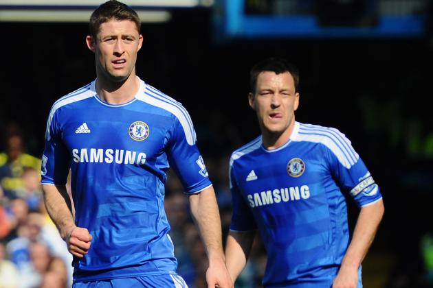 Chelsea: Why John Terry and Gary Cahill Make the Best Central Defensive Pair