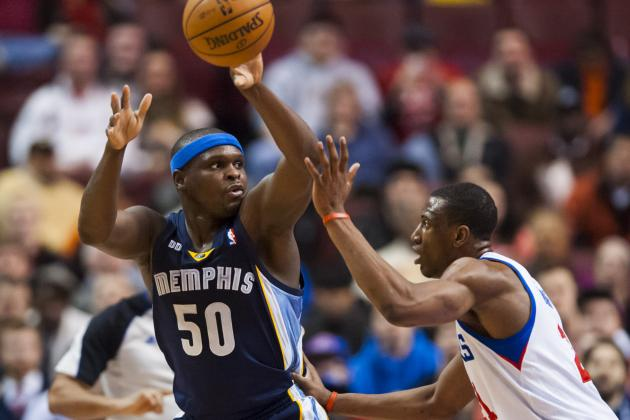 Grizzlies' Zach Randolph Offering No Excuses for Scoring Funk