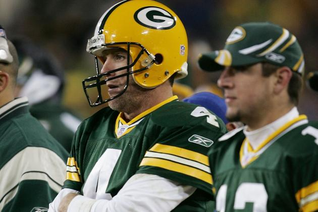 Favre Has 'No Ill Feelings' Toward Rodgers
