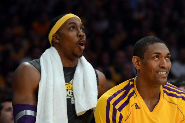Lakers' World Peace Suspended Game for Punch; Dwight Howard Also out vs. Nets