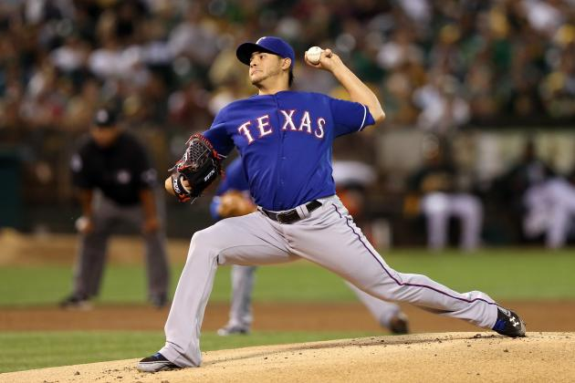 LHP Martin Perez Has Shot to Win Spot in Rangers' 2013 Rotation