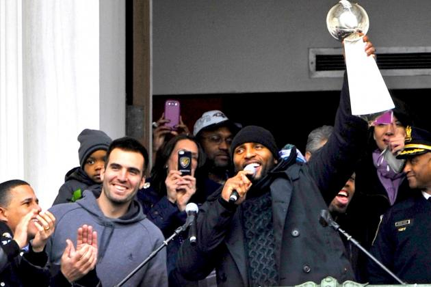 Super Bowl 2013: Twitter Reacts to Baltimore Ravens Victory Parade