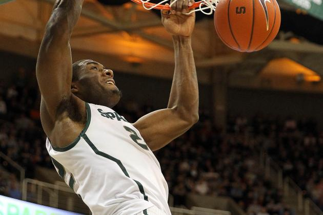 Coach Tom Izzo Calls Branden Dawson MSU's Best Player