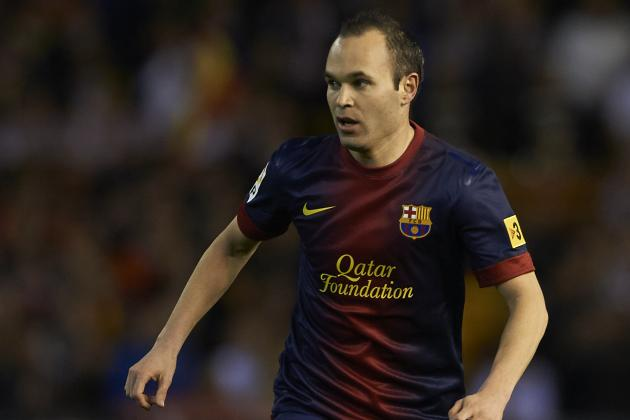 Andres Iniesta Planning Long-Term Barcelona Stay